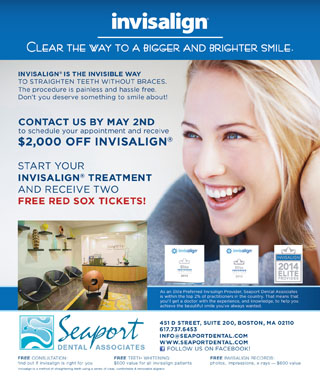 Check out our great new Invisalign deal in the Improper Bostonian!